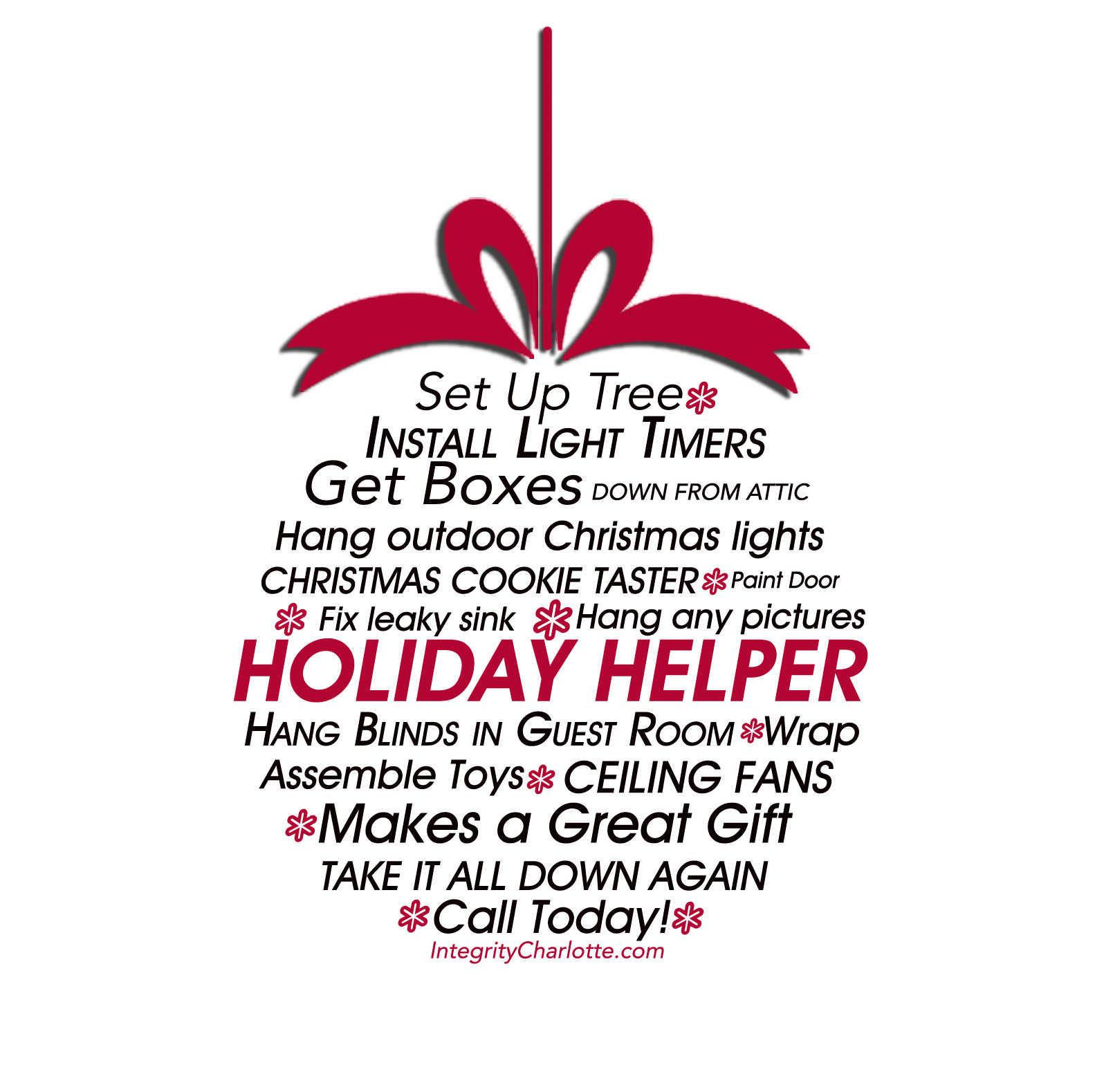Fort Mill Handyman ~ Holiday Helper