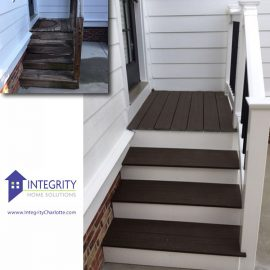 Wolf Decking stair makeover